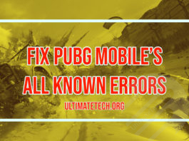Fix PUBG Mobile all Known Errors